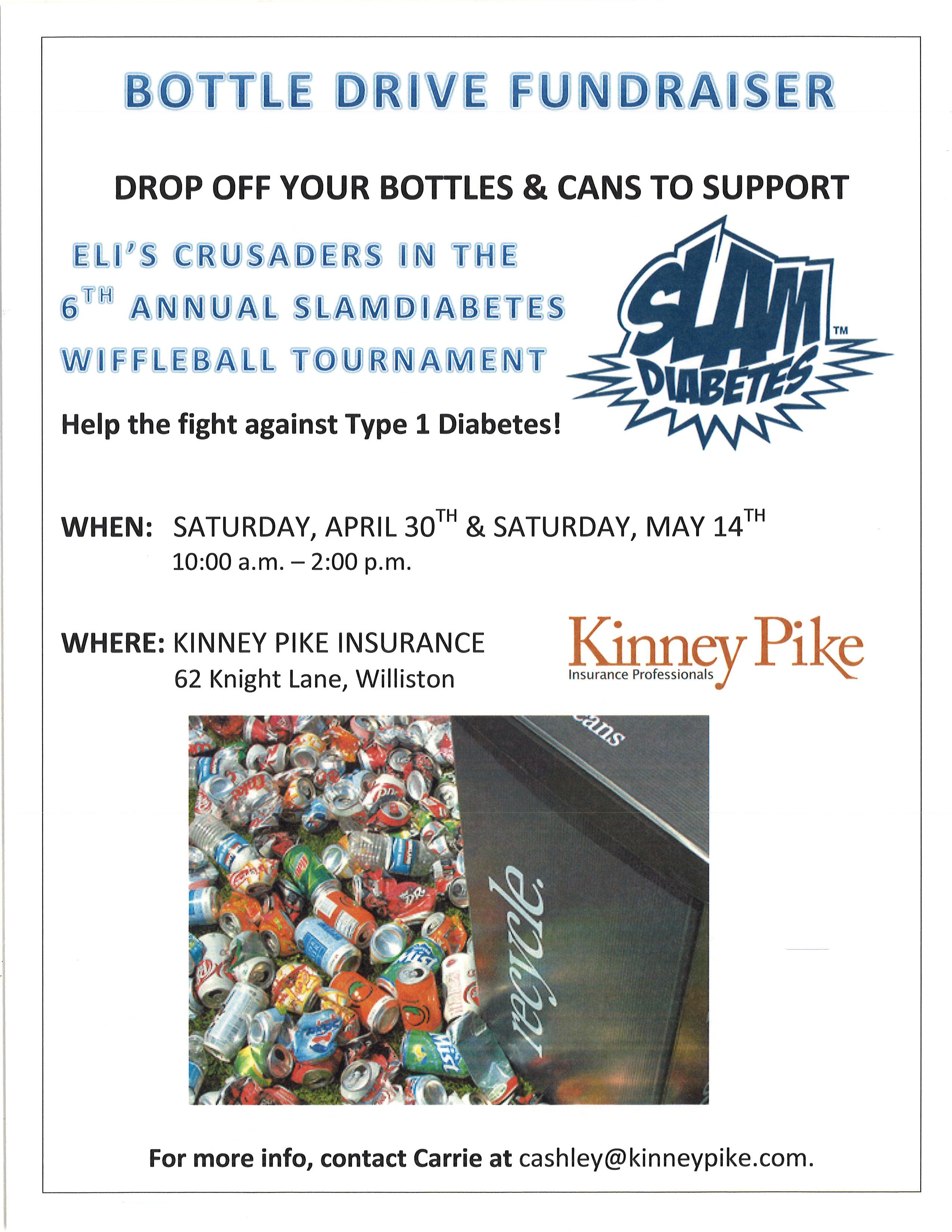 SLAM Bottle Drive Poster